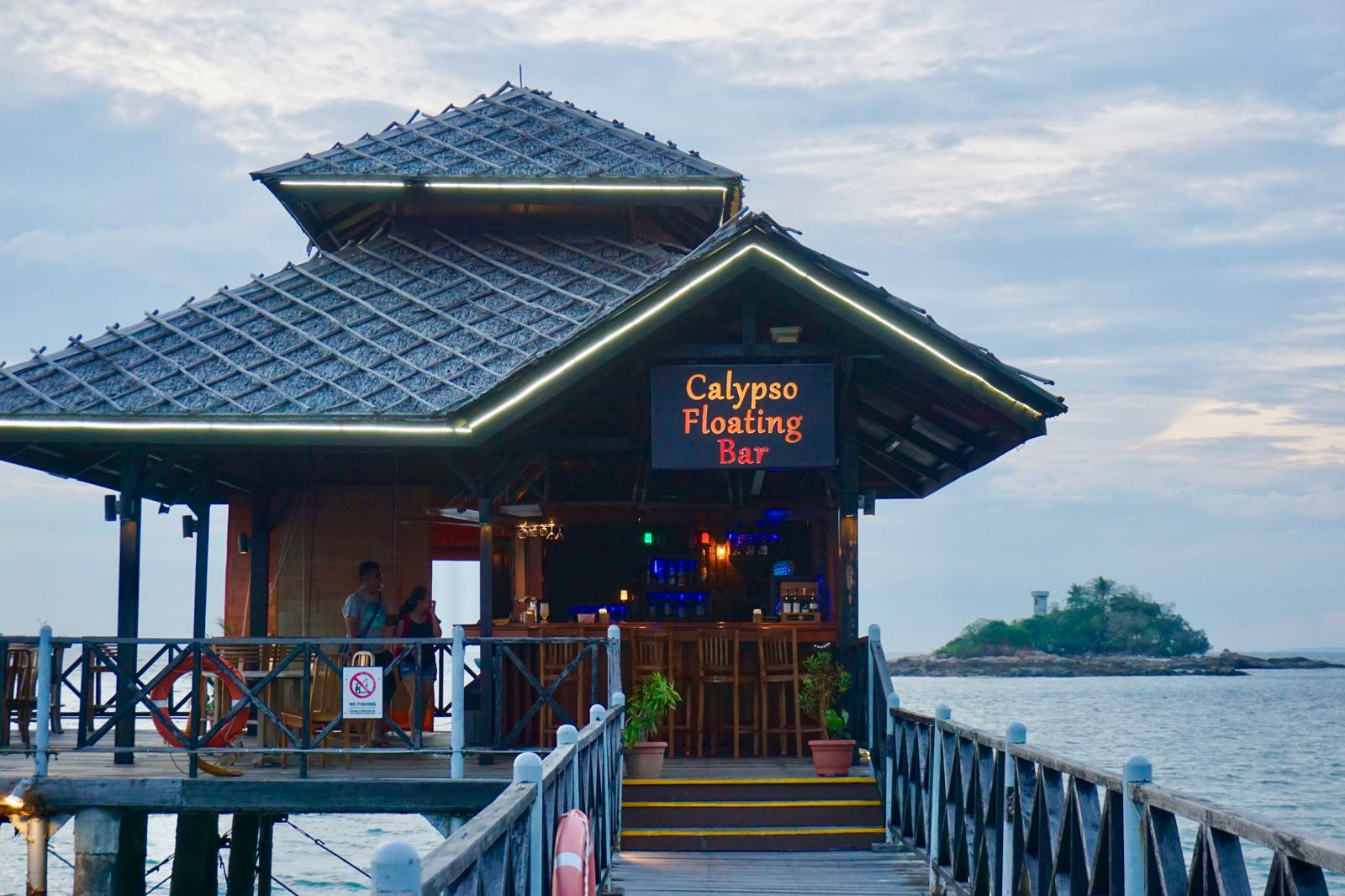 Calypso Floating Bar Bintan
