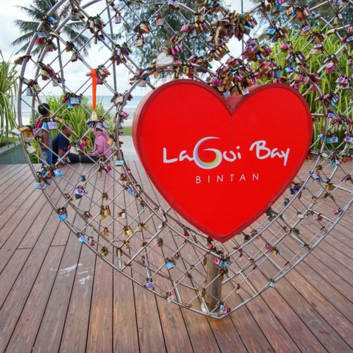 Love Lock Di Lagoi Bay Bintan