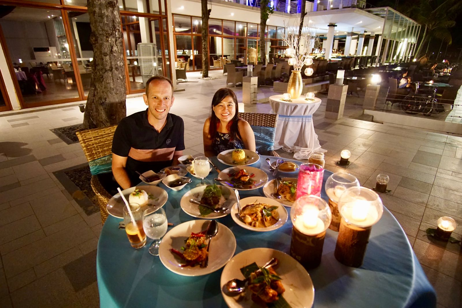 Romantic Dinner Di Bintan Lagoon Resort