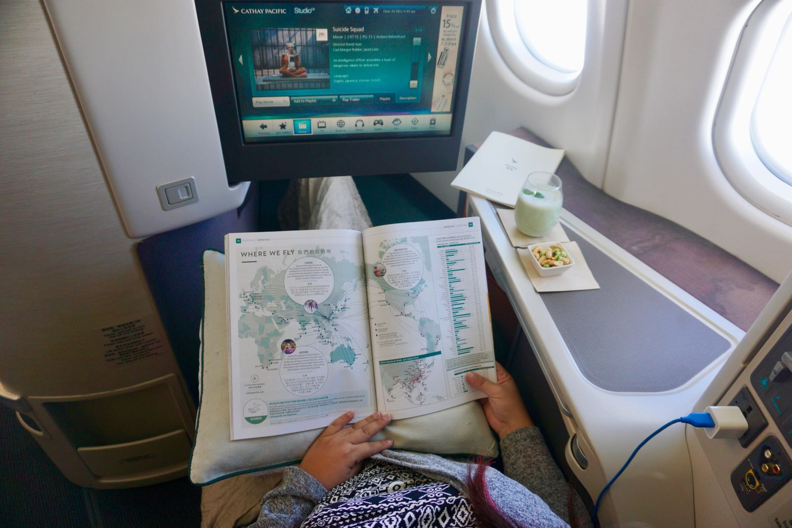 Better In Flight Entertainment Di Business Class