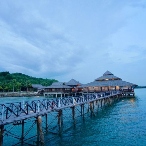 Kelong Seafood Restaurant For Sunset Di Bintan