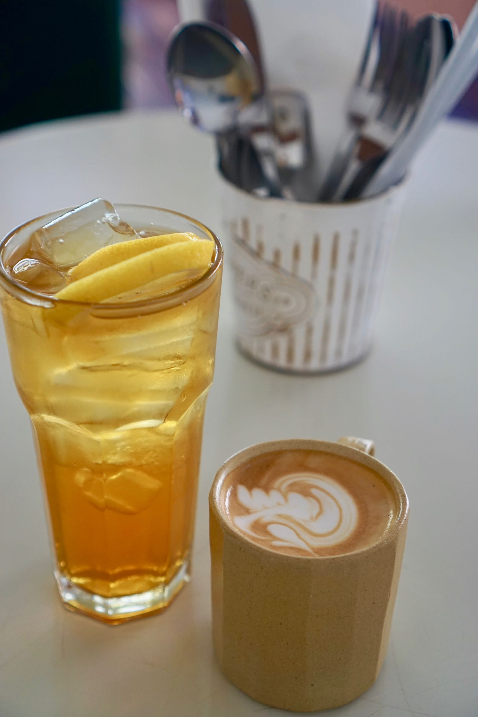 Kopi Di The Potting Shed Bandung