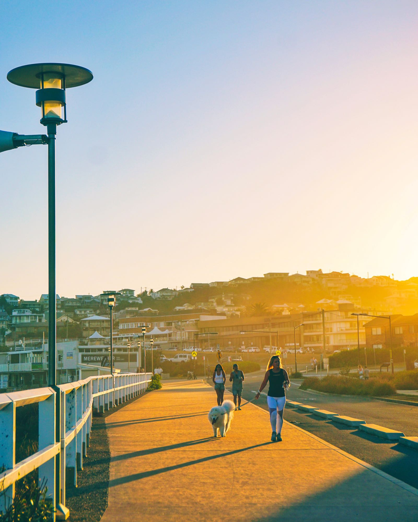 Promenade Di Merewether Beach Newcastle