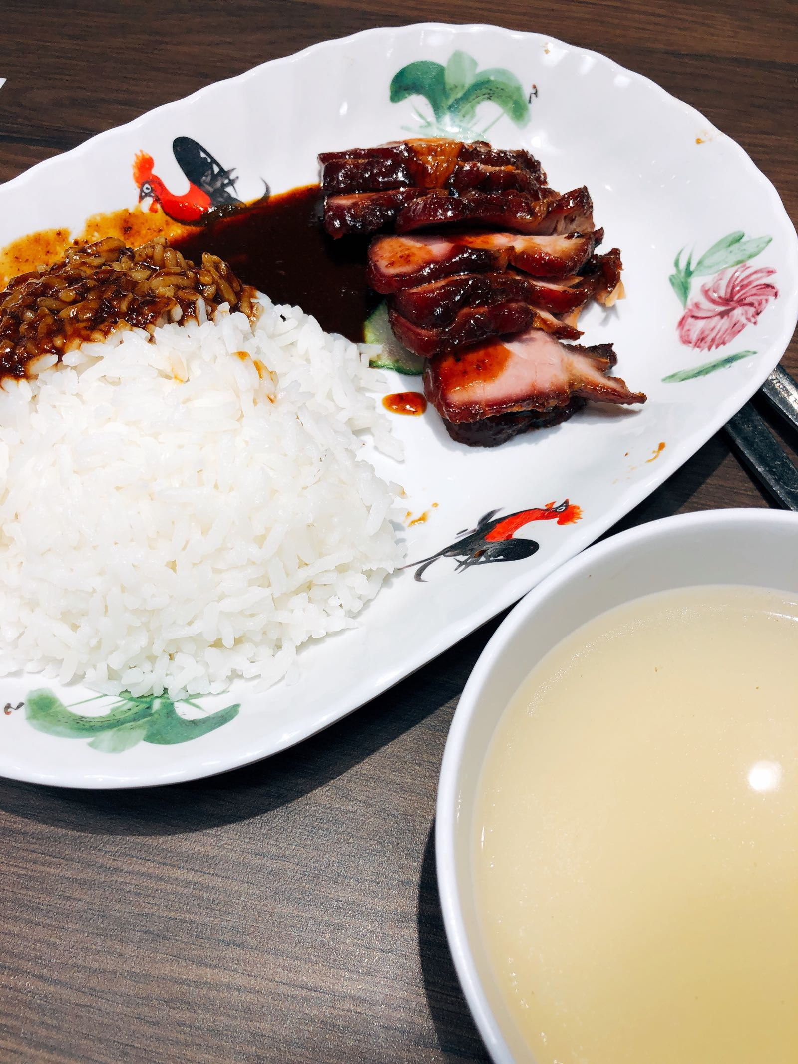 BBQ Rice Di Food Emporium Changi