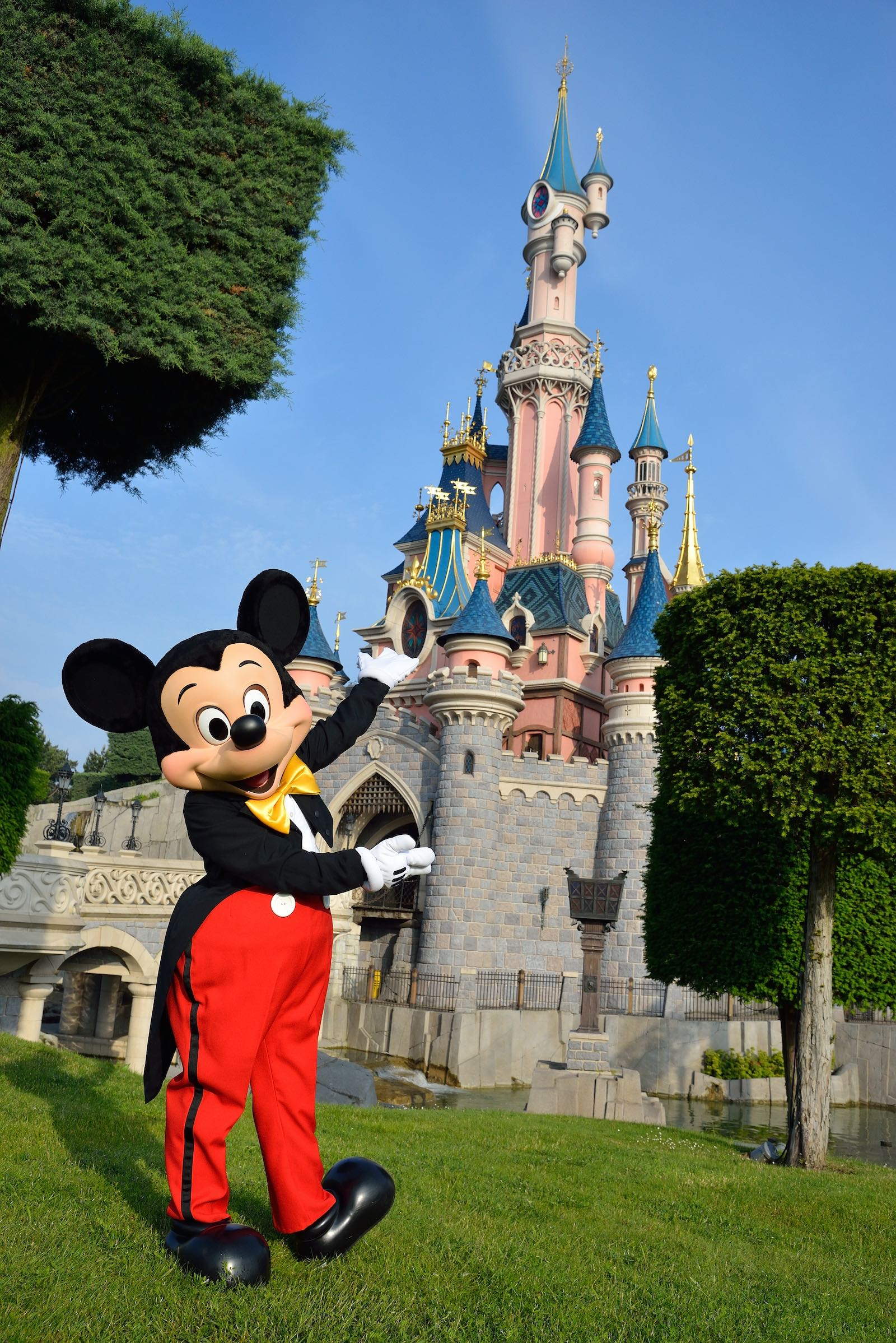 Disneyland Paris Mickey Castle