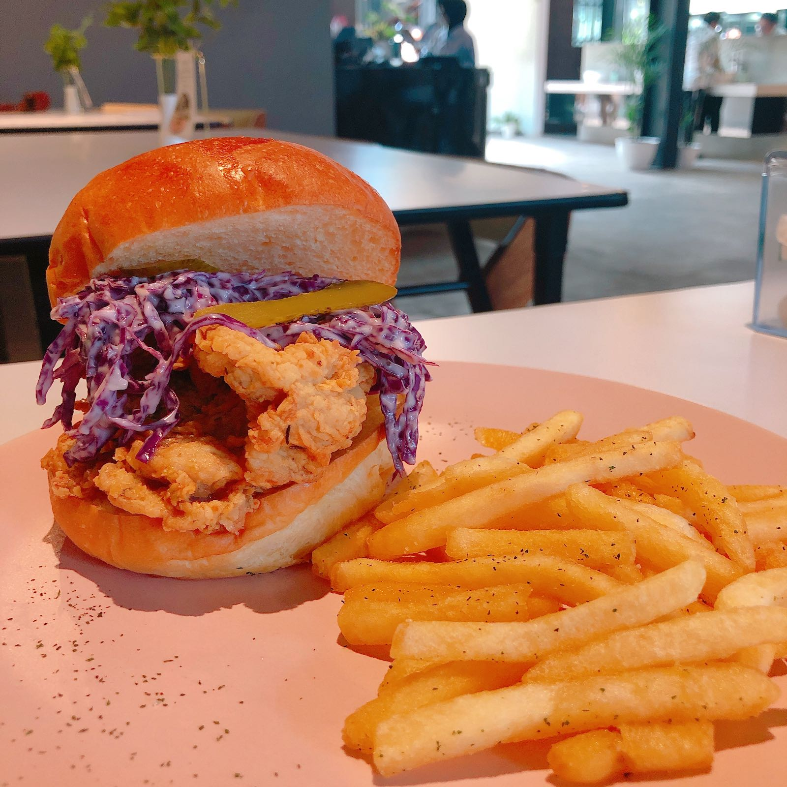 Chicken Burger Arunika