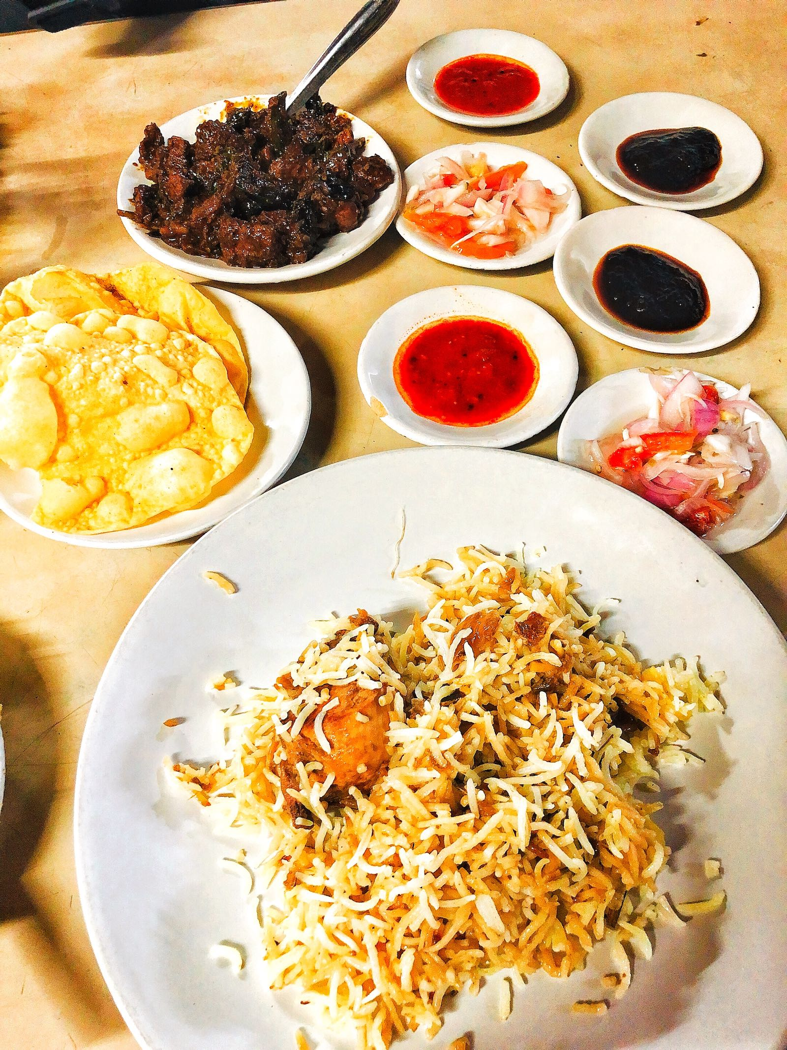 Briyani Di Kayees Cafe Fort Kochi