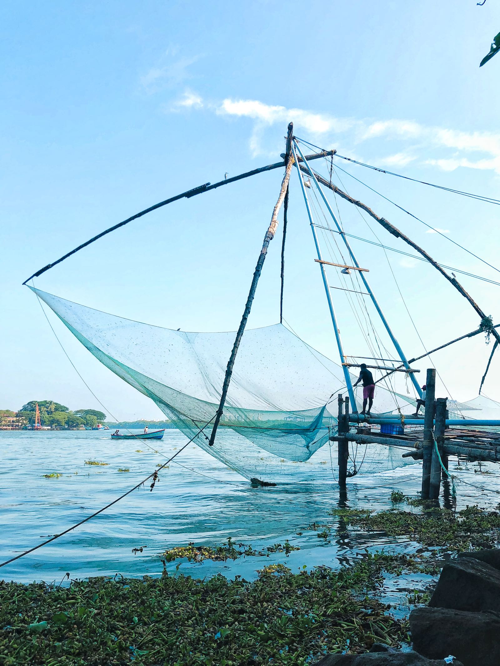 Chinese Fishing Net Fort Kochi Kerala India