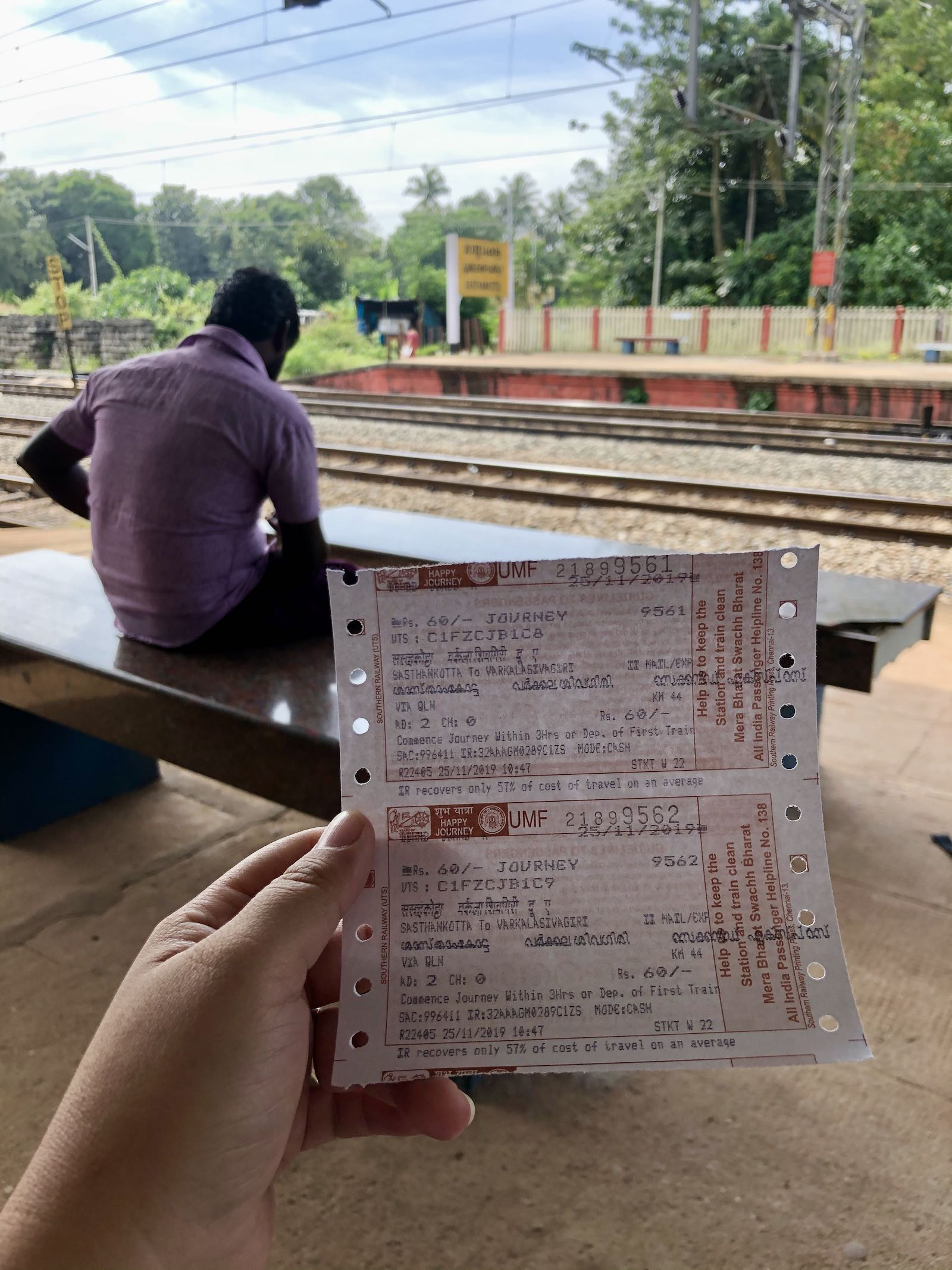 Tiket Unreserved General Class